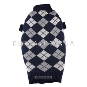 картинка Blue plaid pullover